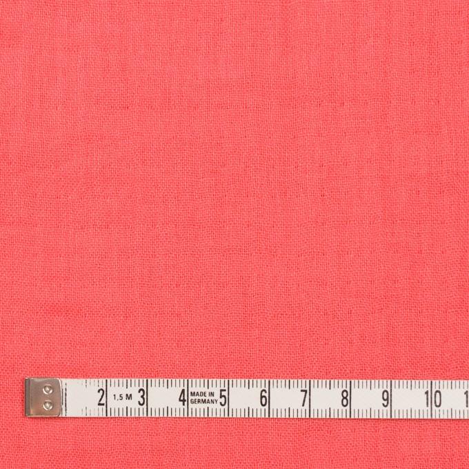 コットン×無地(コーラル)×トリプルガーゼ_全3色 イメージ4