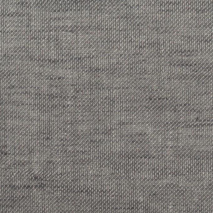 コットン&リネン×無地(アッシュグレー)×薄サージ イメージ1