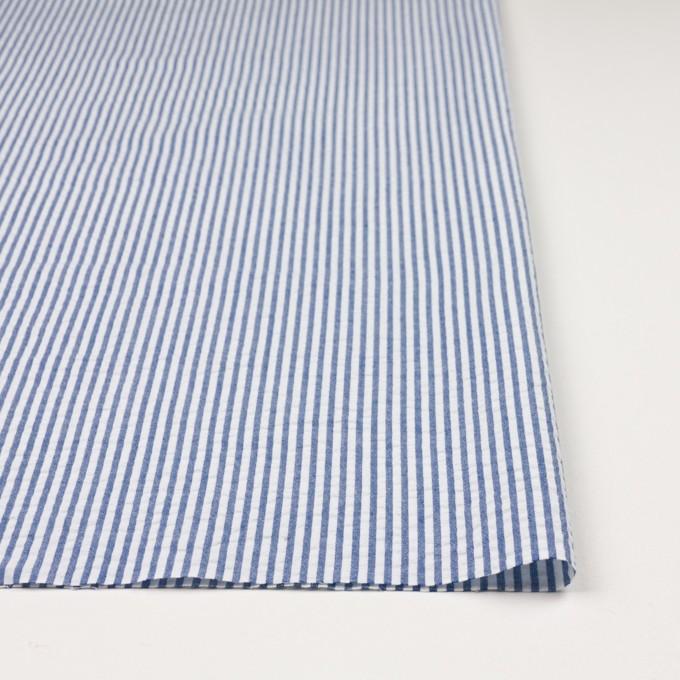 コットン×ストライプ(ブルー)×サッカー_全2色 イメージ3