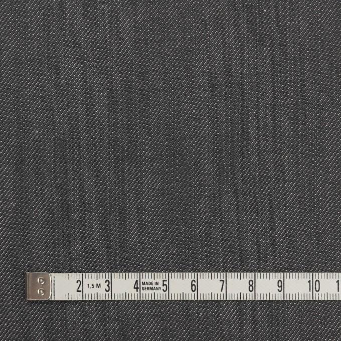 コットン×無地(スチールグレー)×デニム(11.5oz) イメージ4