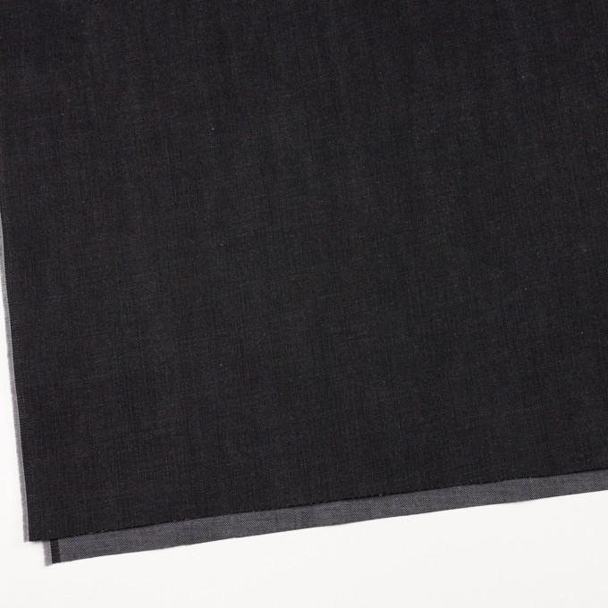 コットン×無地(チャコールブラック)×デニム(12oz) イメージ2