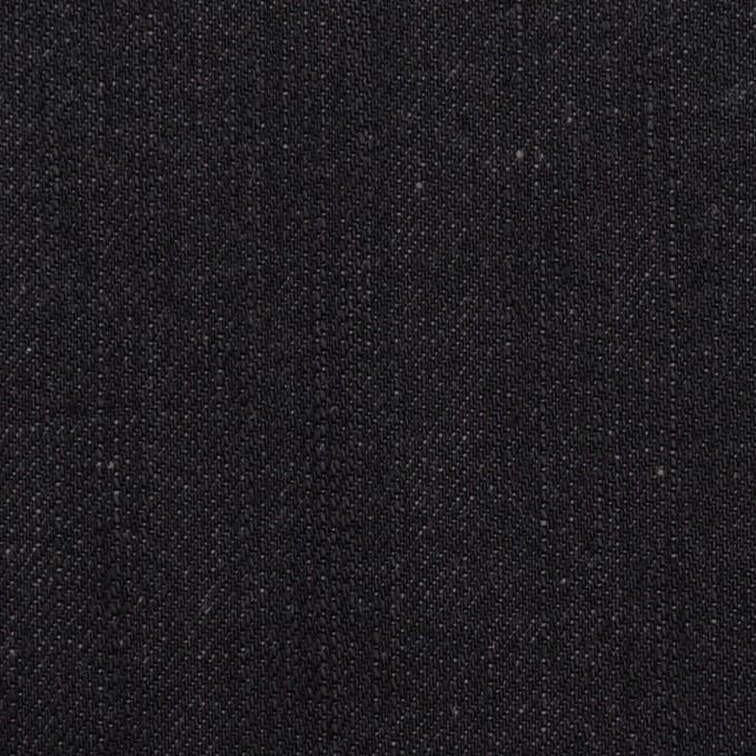 コットン×無地(チャコールブラック)×デニム(12oz) イメージ1