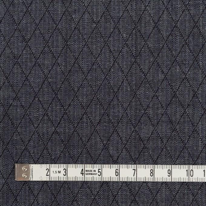 コットン×ダイヤ(インディゴ)×二重織 イメージ4