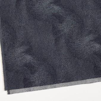 コットン×幾何学模様(インディゴ)×デニムジャガード(10.5oz) サムネイル2
