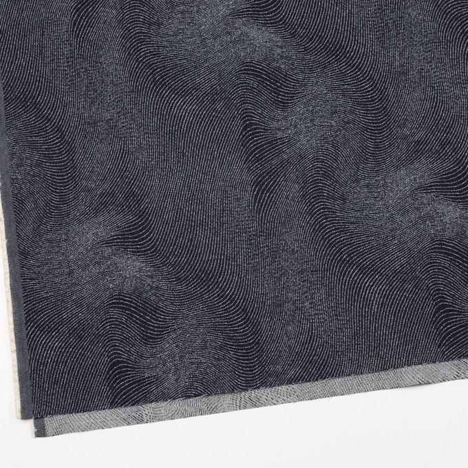 コットン×幾何学模様(インディゴ)×デニムジャガード(10.5oz) イメージ2