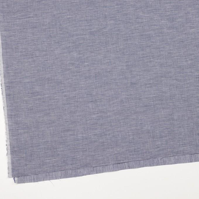 コットン&リネン×無地(アッシュブルー)×ボイル イメージ2