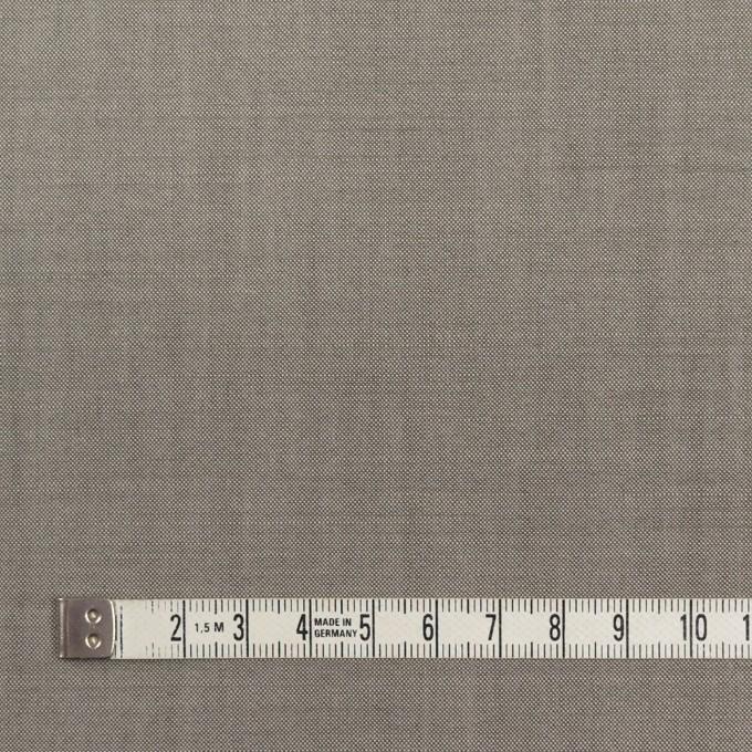 ウール×無地(グレー)×ポプリン_イタリア製 イメージ4