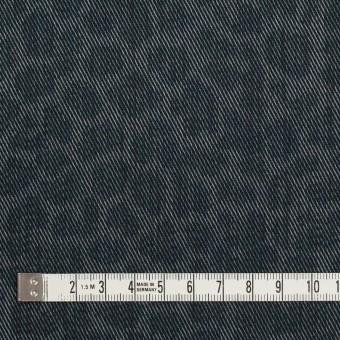 コットン&ポリエステル×レオパード(スチールグレー)×チノクロス サムネイル4