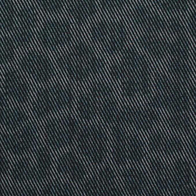 コットン&ポリエステル×レオパード(スチールグレー)×チノクロス イメージ1