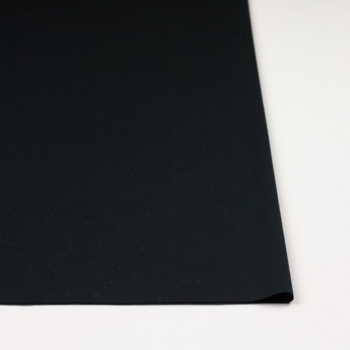 コットン&モダール×無地(ブルーブラック)×スムースニット イメージ3