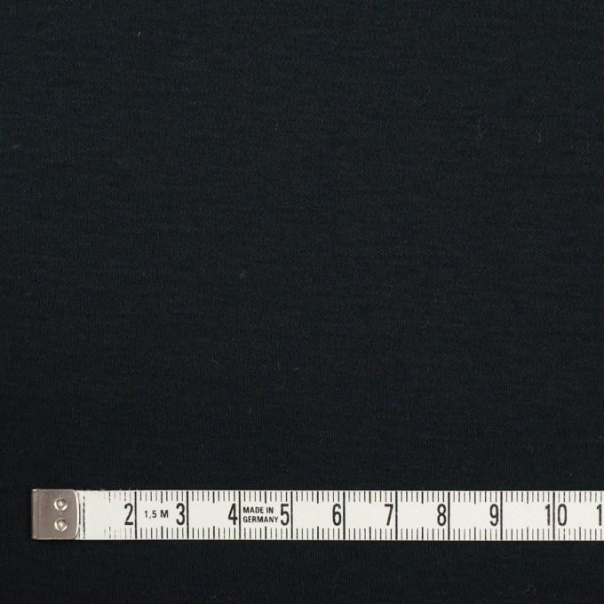 コットン&モダール×無地(ブルーブラック)×スムースニット イメージ4
