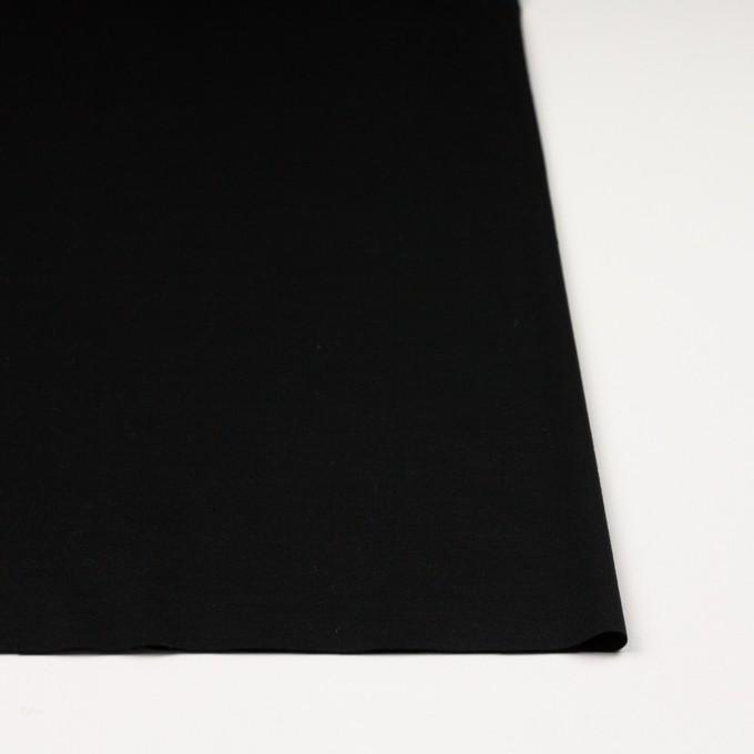 コットン&モダール×無地(ブラック)×スムースニット イメージ3