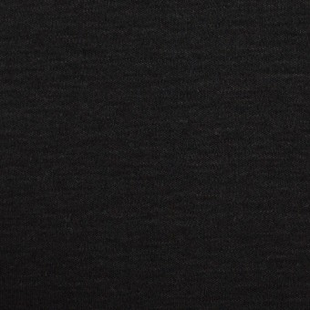 コットン&モダール×無地(ブラック)×スムースニット サムネイル1