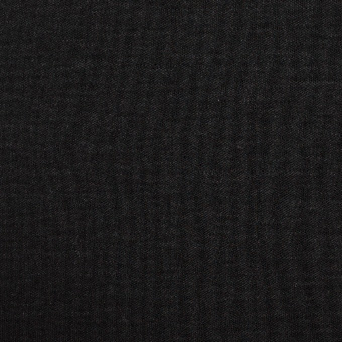 コットン&モダール×無地(ブラック)×スムースニット イメージ1