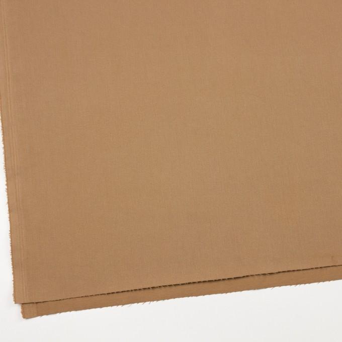 コットン&ポリウレタン×無地(シナモン)×サージストレッチ_全2色_イタリア製 イメージ2