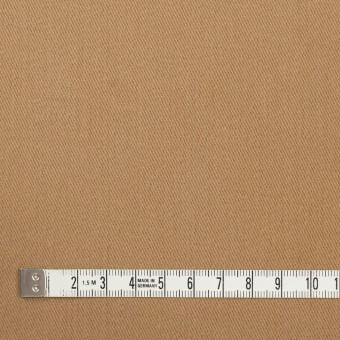 コットン&ポリウレタン×無地(シナモン)×サージストレッチ_全2色_イタリア製 サムネイル4