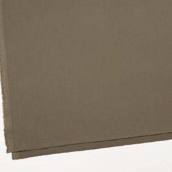 コットン&ポリウレタン×無地(カーキグリーン)×サージストレッチ_全2色_イタリア製 サムネイル2