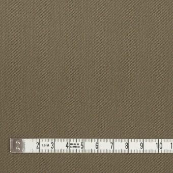 コットン&ポリウレタン×無地(カーキグリーン)×サージストレッチ_全2色_イタリア製 サムネイル4
