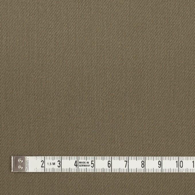コットン&ポリウレタン×無地(カーキグリーン)×サージストレッチ_全2色_イタリア製 イメージ4