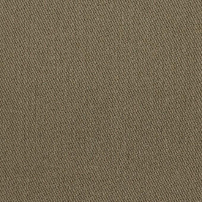 コットン&ポリウレタン×無地(カーキグリーン)×サージストレッチ_全2色_イタリア製 イメージ1