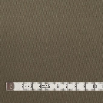 コットン&ポリウレタン×無地(カーキグリーン)×ギャバジンストレッチ_イタリア製 サムネイル4