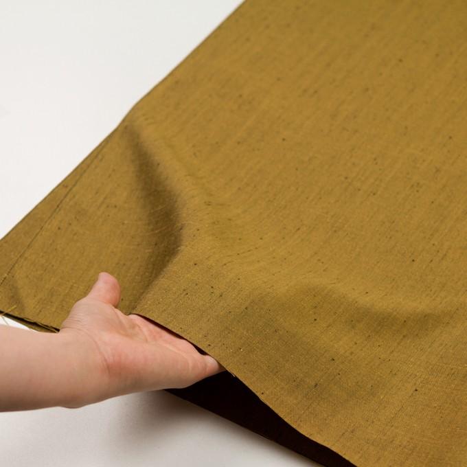 シルク×無地(ゴールド)×斜子織 イメージ5