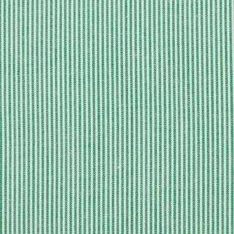 コットン×ストライプ(グリーン)×コードレーン_全2色