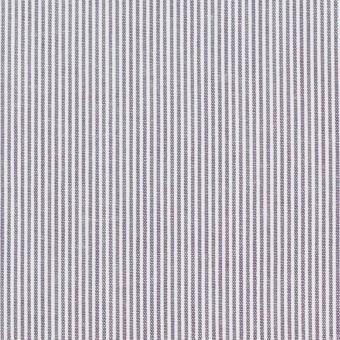 コットン×ストライプ(グレイッシュラベンダー)×コードレーン_全2色