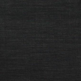 コットン&キュプラ×無地(ブラック)×ローン