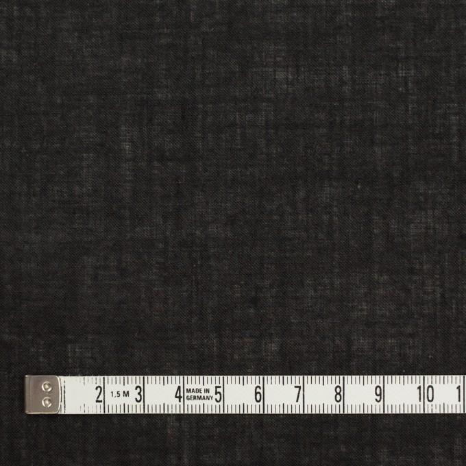 コットン×無地(チャコールブラック)×ボイル イメージ4