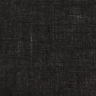 コットン×無地(チャコールブラック)×ボイル