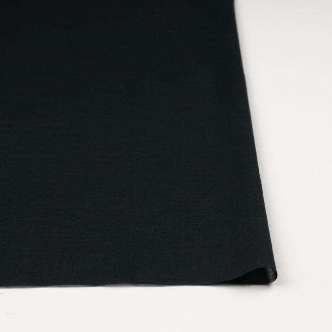 コットン×無地(ブラック)×ボイル イメージ3