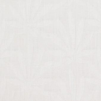 コットン×幾何学模様(ダルホワイト)×ブロードジャガード