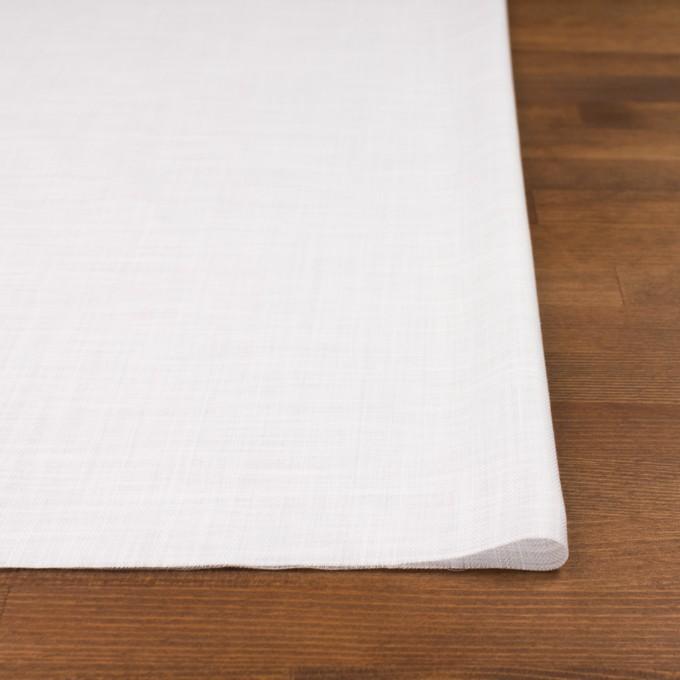 コットン×無地(ホワイト)×ヘリンボーン_全5色 イメージ3