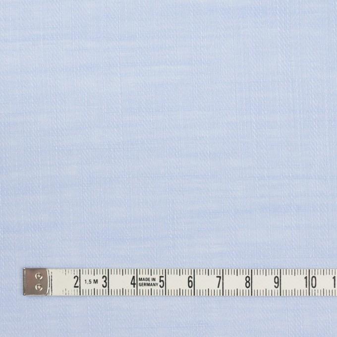 コットン×無地(ペールブルー)×ヘリンボーン_全5色 イメージ4