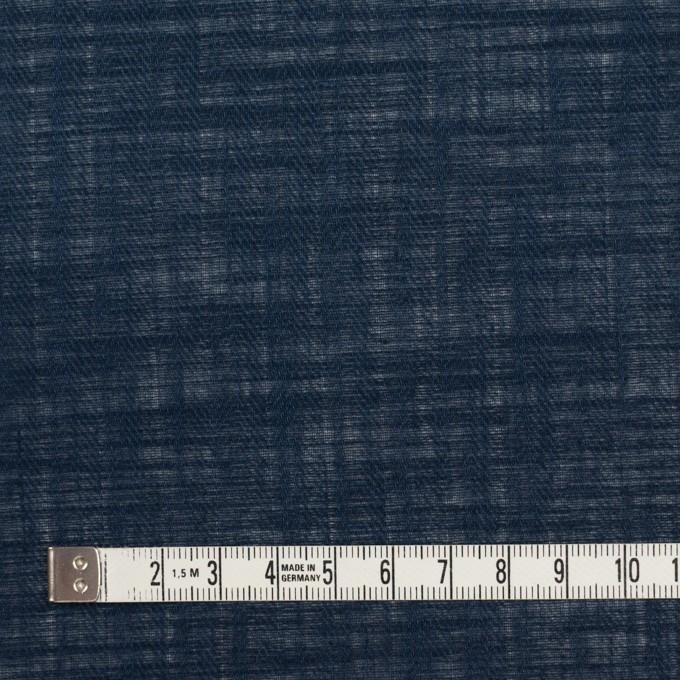 コットン×無地(ダークネイビー)×ヘリンボーン_全5色 イメージ4