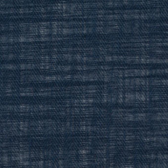 コットン×無地(ダークネイビー)×ヘリンボーン_全5色 イメージ1