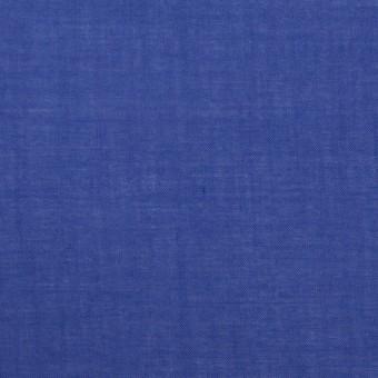 コットン&テンセル×無地(ロイヤルブルー)×ボイル_全4色
