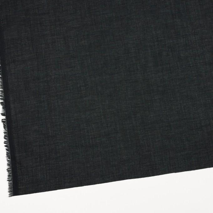 コットン&テンセル×無地(ブラック)×ボイル_全4色 イメージ2
