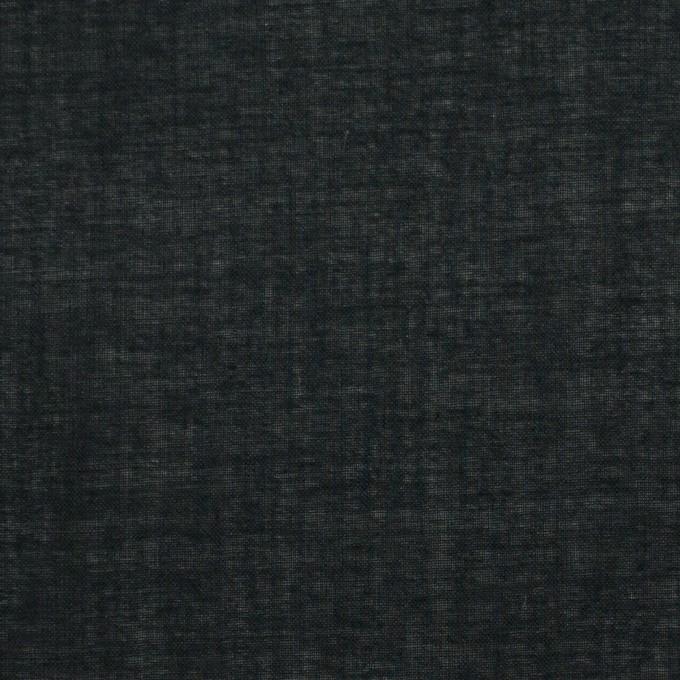 コットン&テンセル×無地(ブラック)×ボイル_全4色 イメージ1