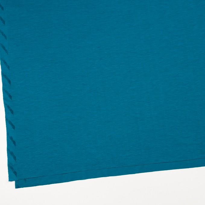 テンセル&コットン×無地(ターコイズブルー)×天竺ニット_全2色 イメージ2