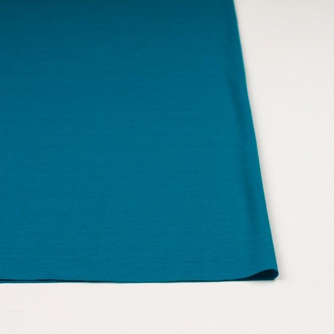 テンセル&コットン×無地(ターコイズブルー)×天竺ニット_全2色 イメージ3