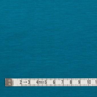 テンセル&コットン×無地(ターコイズブルー)×天竺ニット_全2色 サムネイル4