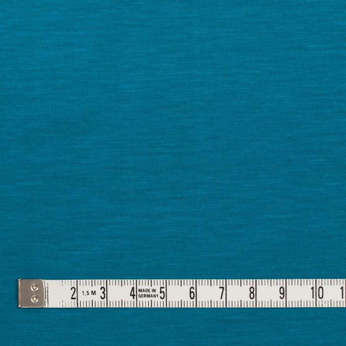 テンセル&コットン×無地(ターコイズブルー)×天竺ニット_全2色 イメージ4