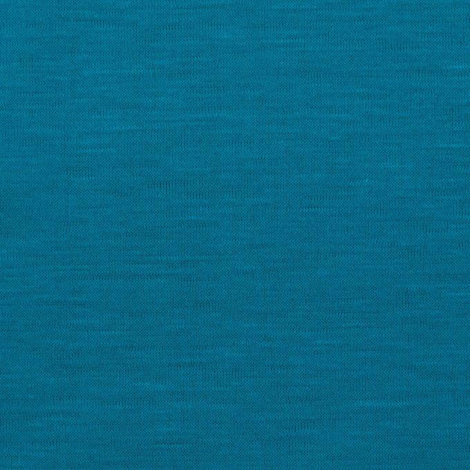 テンセル&コットン×無地(ターコイズブルー)×天竺ニット_全2色 イメージ1