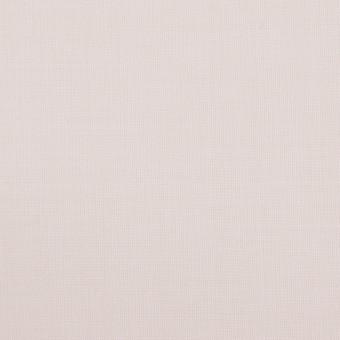 ウール&ポリエステル混×無地(パウダーピンク)×ポプリンストレッチ_イタリア製
