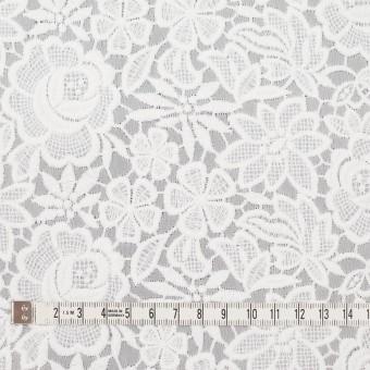 ポリエステル×フラワー(オフホワイト)×ジョーゼット刺繍 サムネイル4