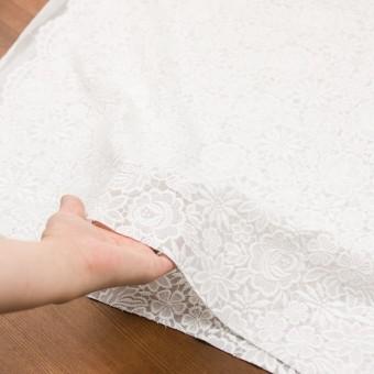 ポリエステル×フラワー(オフホワイト)×ジョーゼット刺繍 サムネイル6