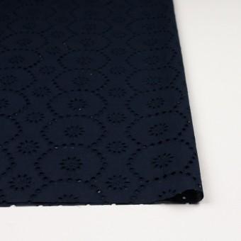 コットン×フラワー(ネイビー)×ローン刺繍_全3色 サムネイル3