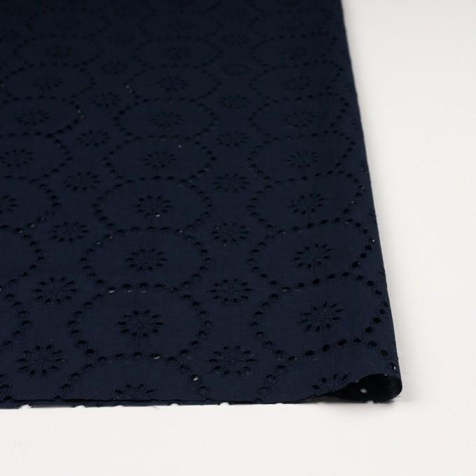コットン×フラワー(ネイビー)×ローン刺繍_全3色 イメージ3